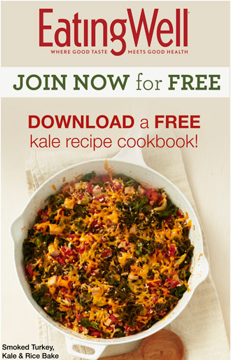 Download a FREE Kale Recipe Cookbook!