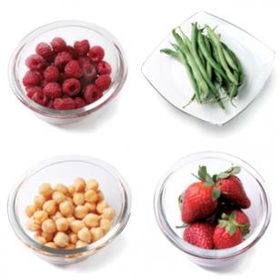Fill up on high-fiber foods to help prevent weight gain.