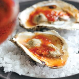 Spicy Barbecued Oysters