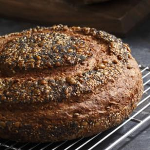 Seeded Multigrain Boule Recipe