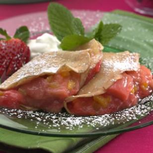 Fruit-Filled Crepes Recipe