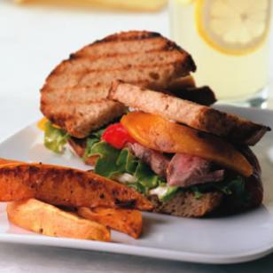 Bistro Flank Steak Sandwich Recipe