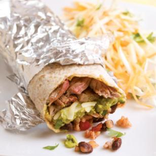 Steak Burritos for Two