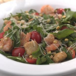 Warm Shrimp &amp;amp; Arugula Salad Recipe
