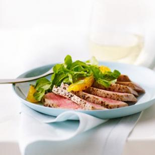 Orange, Watercress &amp;amp; Tuna Salad Recipe