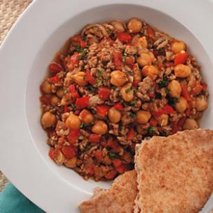 Lamb & Chickpea Chili for Two