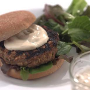 Asian Turkey Burgers Recipe
