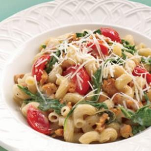 Fusilli with Italian Sausage &amp;amp; Arugula Recipe