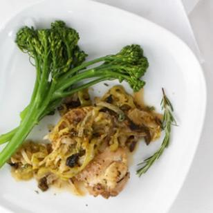 Fennel, Porcini & Chicken Cacciatore Recipe