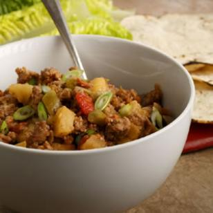 Apple Turkey Picadillo Recipe