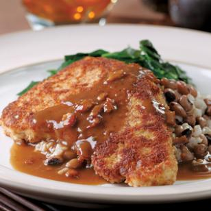 Chicken-Fried Turkey Cutlets with Redeye Gravy Recipe