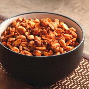 Chile-Lime Peanuts Recipe