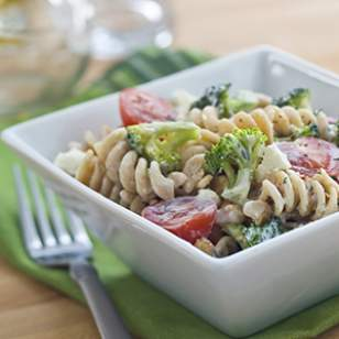 Broccoli & Feta Pasta Salad Recipe