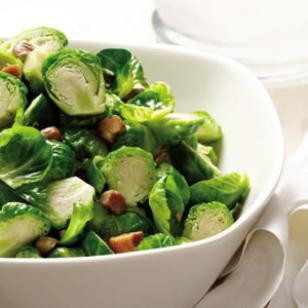 Brussels Sprouts with Chestnuts & Sage Recipe