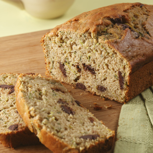 EatingWell Zucchini Bread with Chocolate Chips
