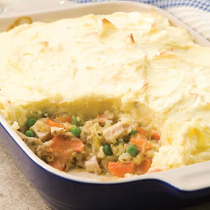 Turkey & Leek Shepherd's Pie